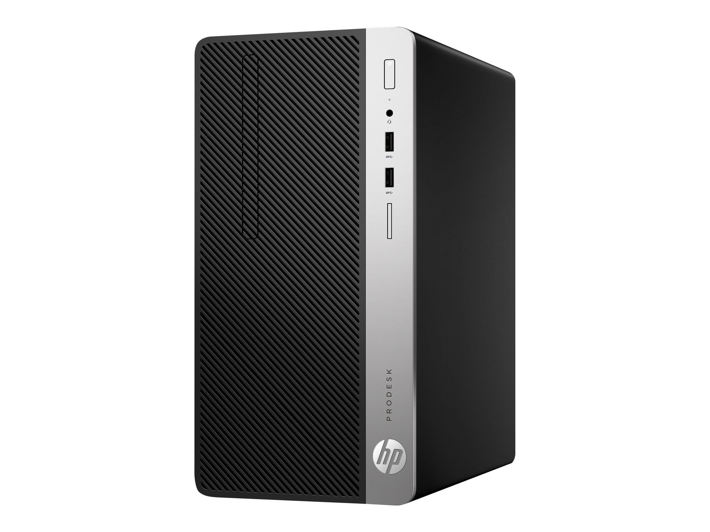 HP ProDesk 400 G4 - Micro Tower - 1 x Core i7 7700 / 3.6 GHz - RAM 8 GB - HDD 1 TB - DVD-Writer - GF GT 730 - GigE - Win 10 Pro