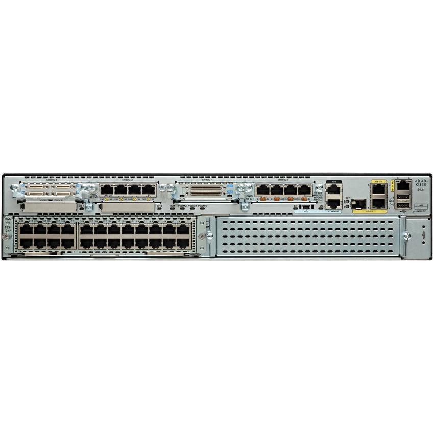 Cisco 2921 Voice Security Bundle Router (C2921-VSEC/K9)