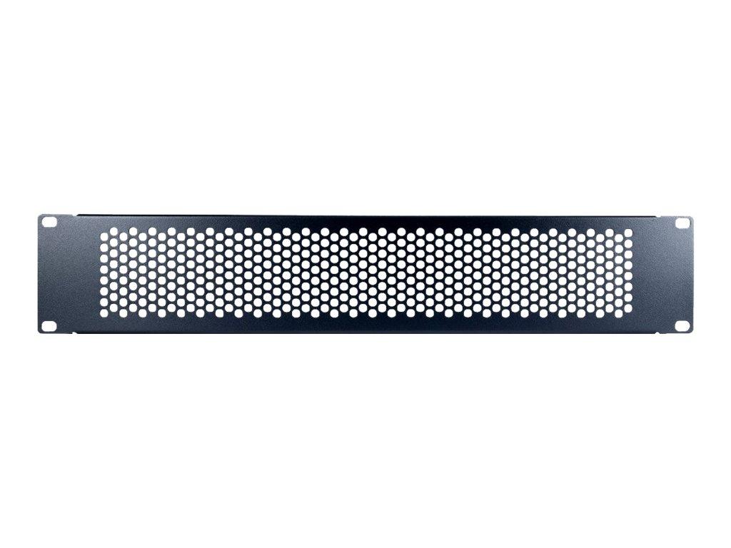 "Inter-Tech PINHOLE APERTURE - Blindplatte - RAL 9005 - 2U - 48.3 cm (19"")"