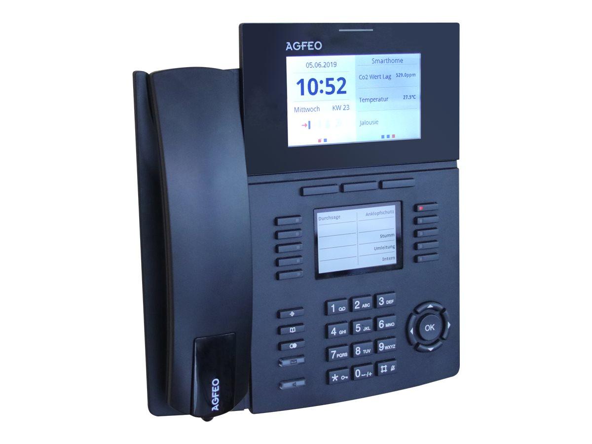 AGFEO ST 56 IP SENSORfon - VoIP-Telefon - Schwarz