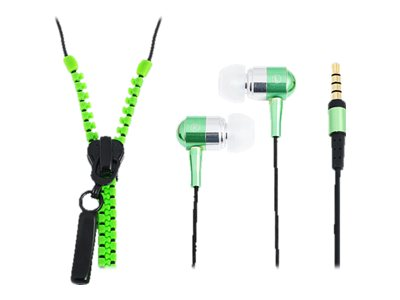"LogiLink ""Zipper"" Stereo In-Ear Headset"