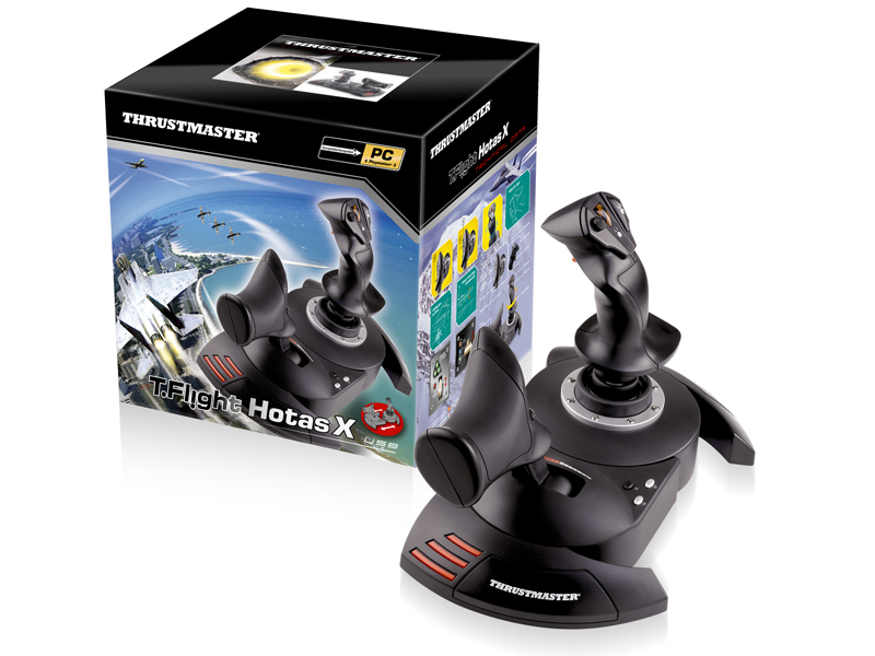 ThrustMaster T.Flight Hotas X Flugsimulation PC Schwarz