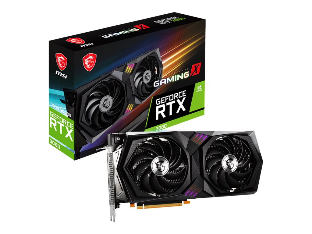 Vorschau: MSI GeForce RTX 3060 GAMING X 12G - Grafikkarten