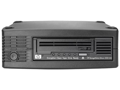 HP LTO5 Ultrium 3000 SAS Ext Tape Drive (EH958B)