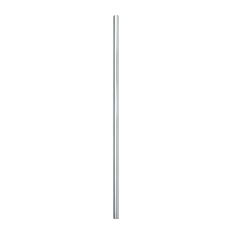 Vorschau: Patlite POLE-800A21+O0109 - Montageset - Silber - Aluminium - PATLITE LR6-USB - 800 mm - 2,2 cm