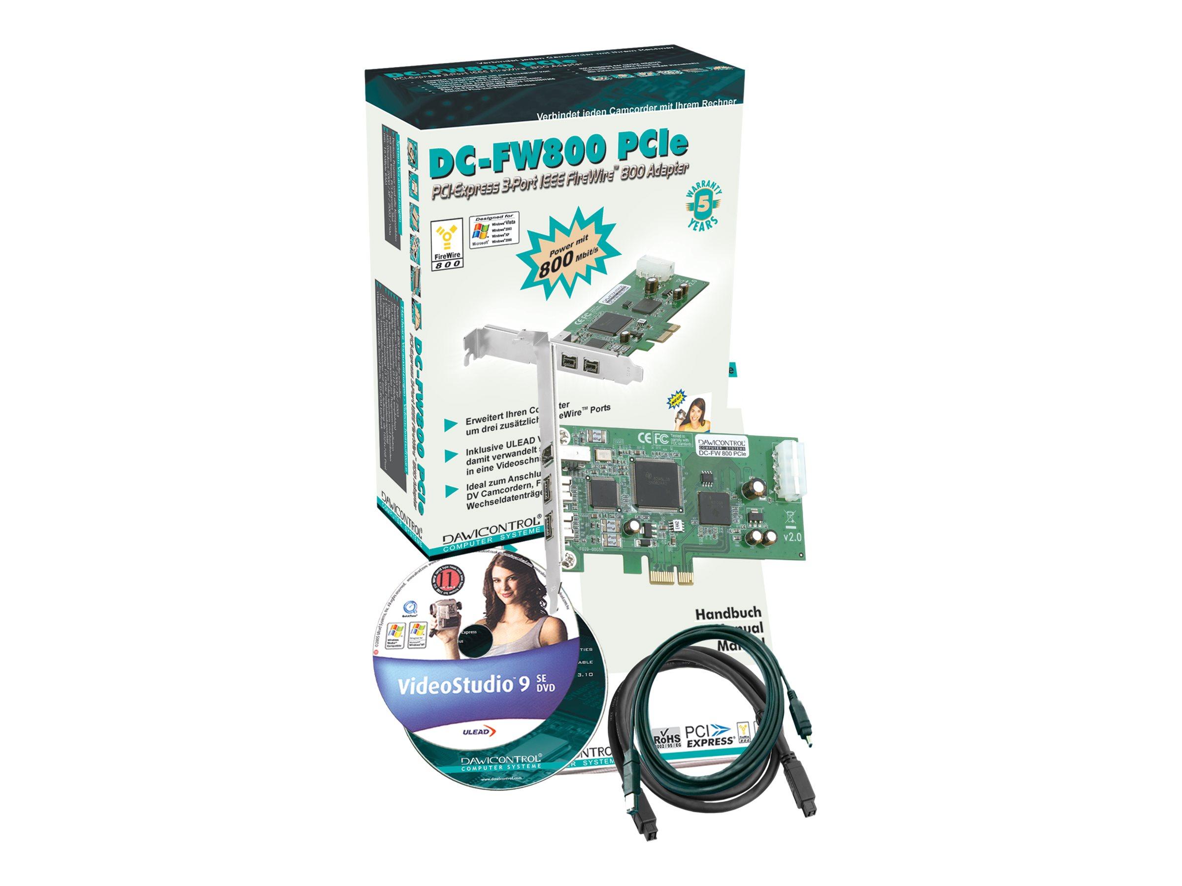 Dawicontrol DC-FW800 PCIe - Videoaufnahmeadapter