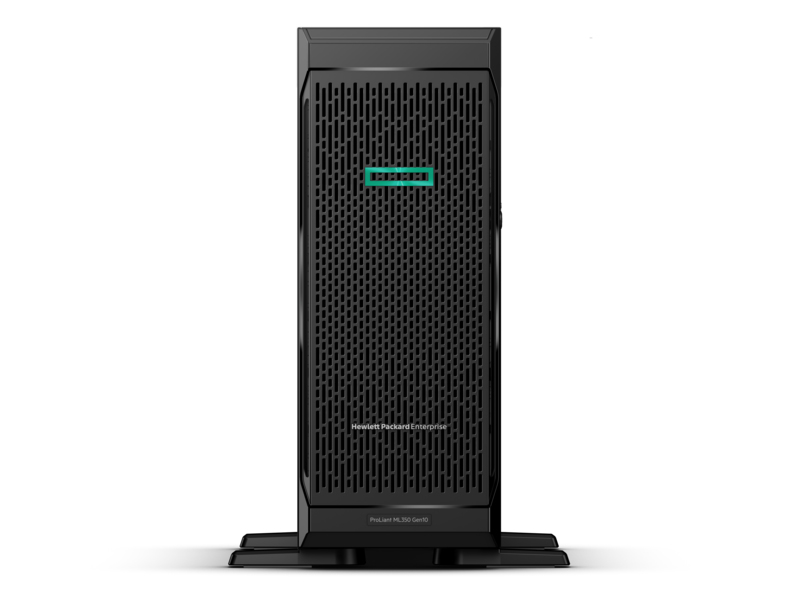 HP Enterprise ProLiant ML350 Gen10 - 2,2 GHz - 4210 - 16 GB - DDR4-SDRAM - 800 W - Turm (4U)