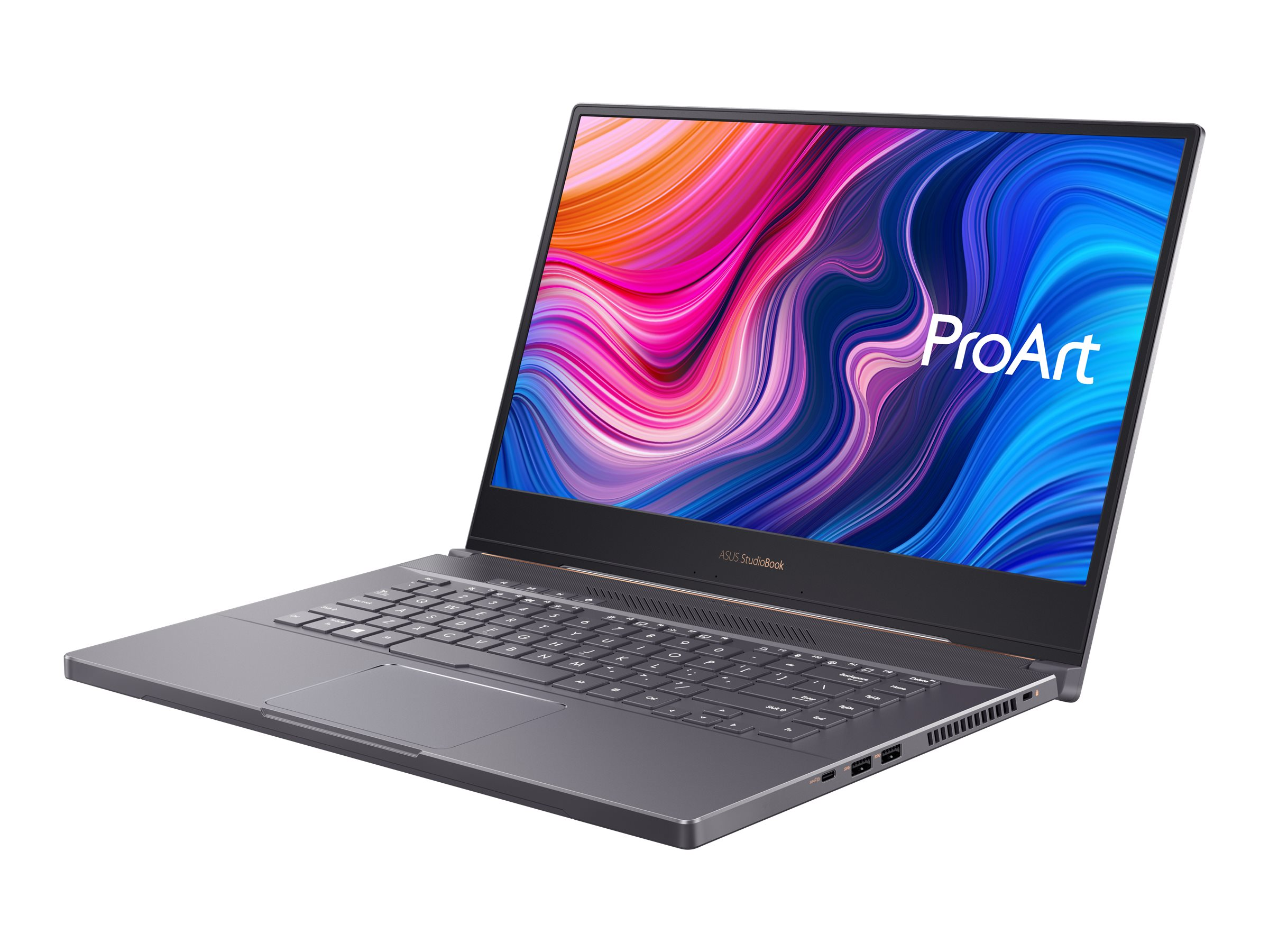 "ASUS ProArt StudioBook 15 H500GV-HC037R - Core i7 9750H / 2.6 GHz - Win 10 Pro 64-Bit - 48 GB RAM - 1 TB SSD NVMe - 39.6 cm (15.6"")"
