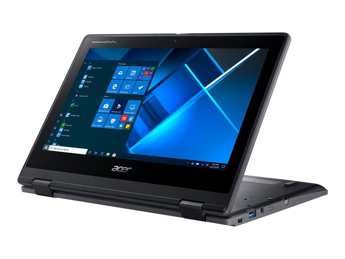 "Acer TravelMate Spin B3 TMB311RN-31-P5KK - Flip-Design - Pentium Silver N5030 / 1.1 GHz - Win 10 Pro 64-bit National Academic - 4 GB RAM - 128 GB SSD - 29.46 cm (11.6"")"
