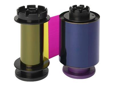 Evolis High Trust YMCKH ribbon - Farbe (Zyan, Magenta, gelb, harzschwarz, Hitzedichtung) - Farbband (Farbe)