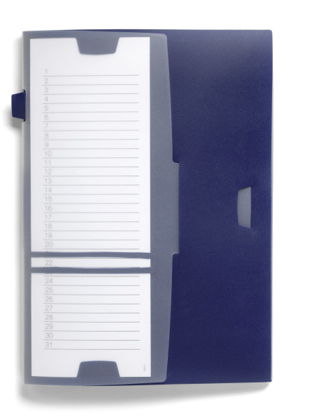 Durable 247707 - Konventioneller Dateiordner - Blau - 1 St?ck(e)