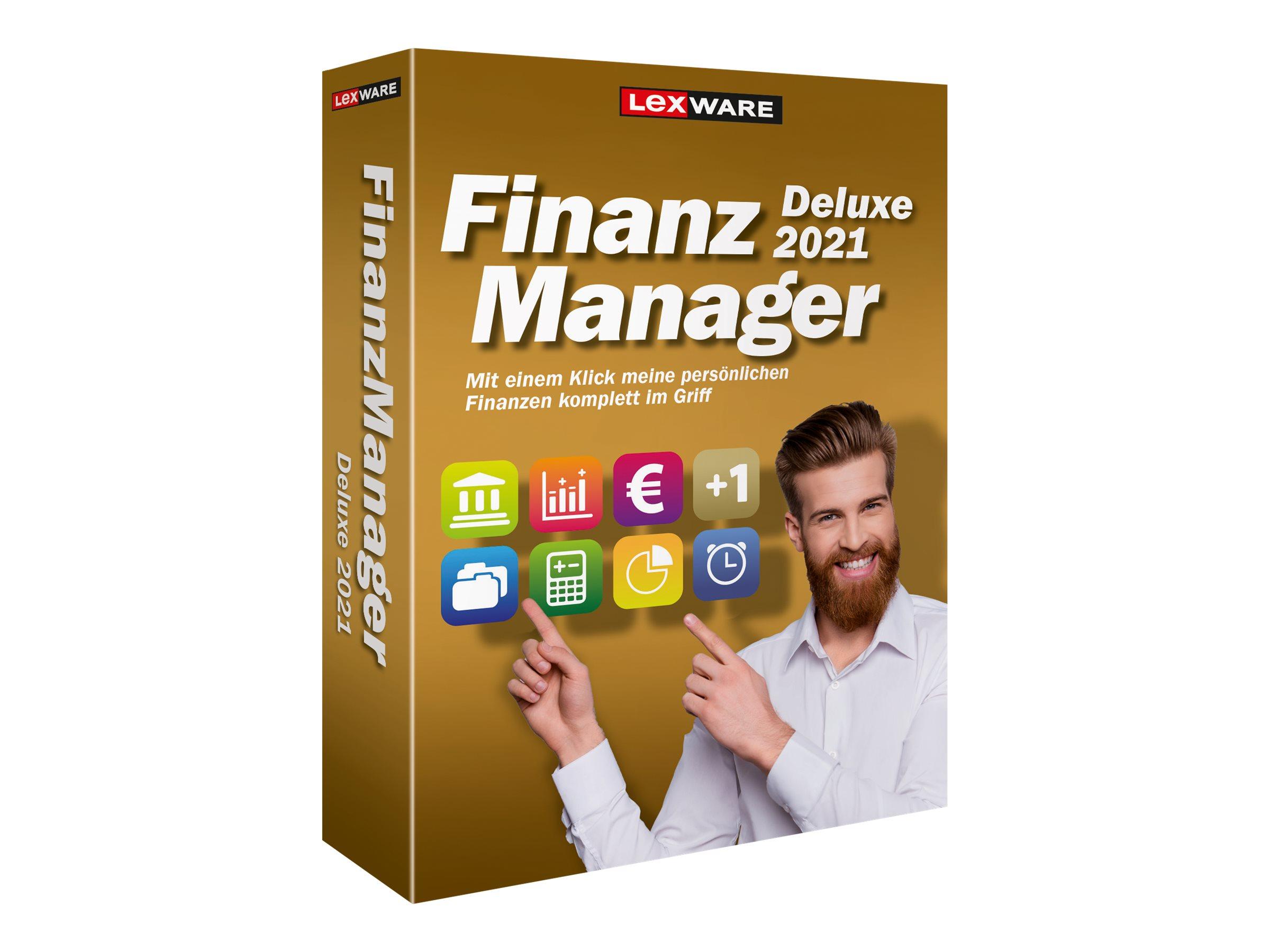 Lexware FinanzManager Deluxe 2021 - Box-Pack (1 Jahr)