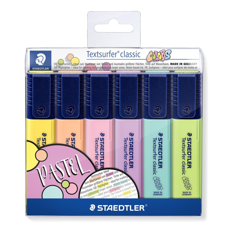 STAEDTLER 364 C - 6 Stück(e) - Limette - Minze - Pfirsich - Pink - Violett - Gelb - Meißel - Polypropylen (PP) - 1 mm - 5 mm