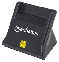 102025 Smart-Card-Lesegerät Schwarz USB 2.0