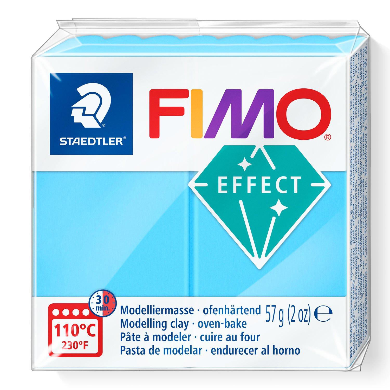 Vorschau: STAEDTLER FIMO 8010 - Knetmasse - Blau - Erwachsene - 1 Stück(e) - Neon blue - 1 Farben