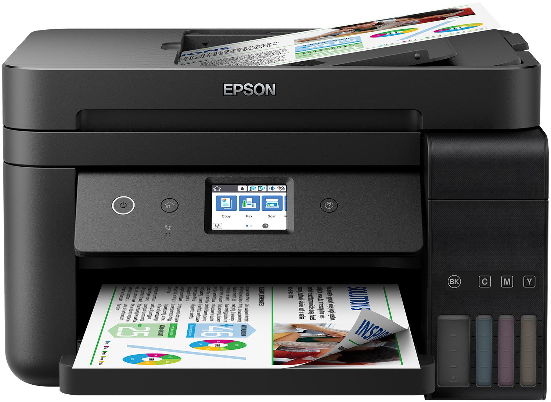 Epson EcoTank EcoTank ET-4750 Unlimited - Tintenstrahl - Farbdruck - 4800 x 1200 DPI - 250 Blätter - A4 - Schwarz