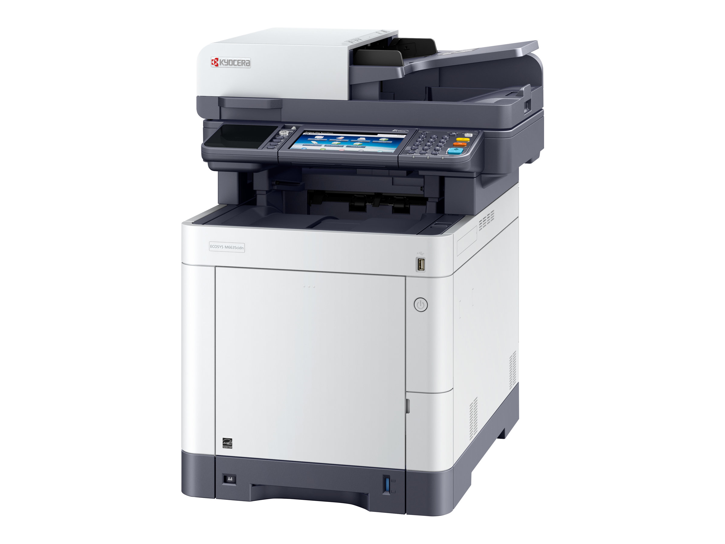 Kyocera ECOSYS M6635cidn - Multifunktionsdrucker - Farbe - Laser - Legal (216 x 356 mm)/