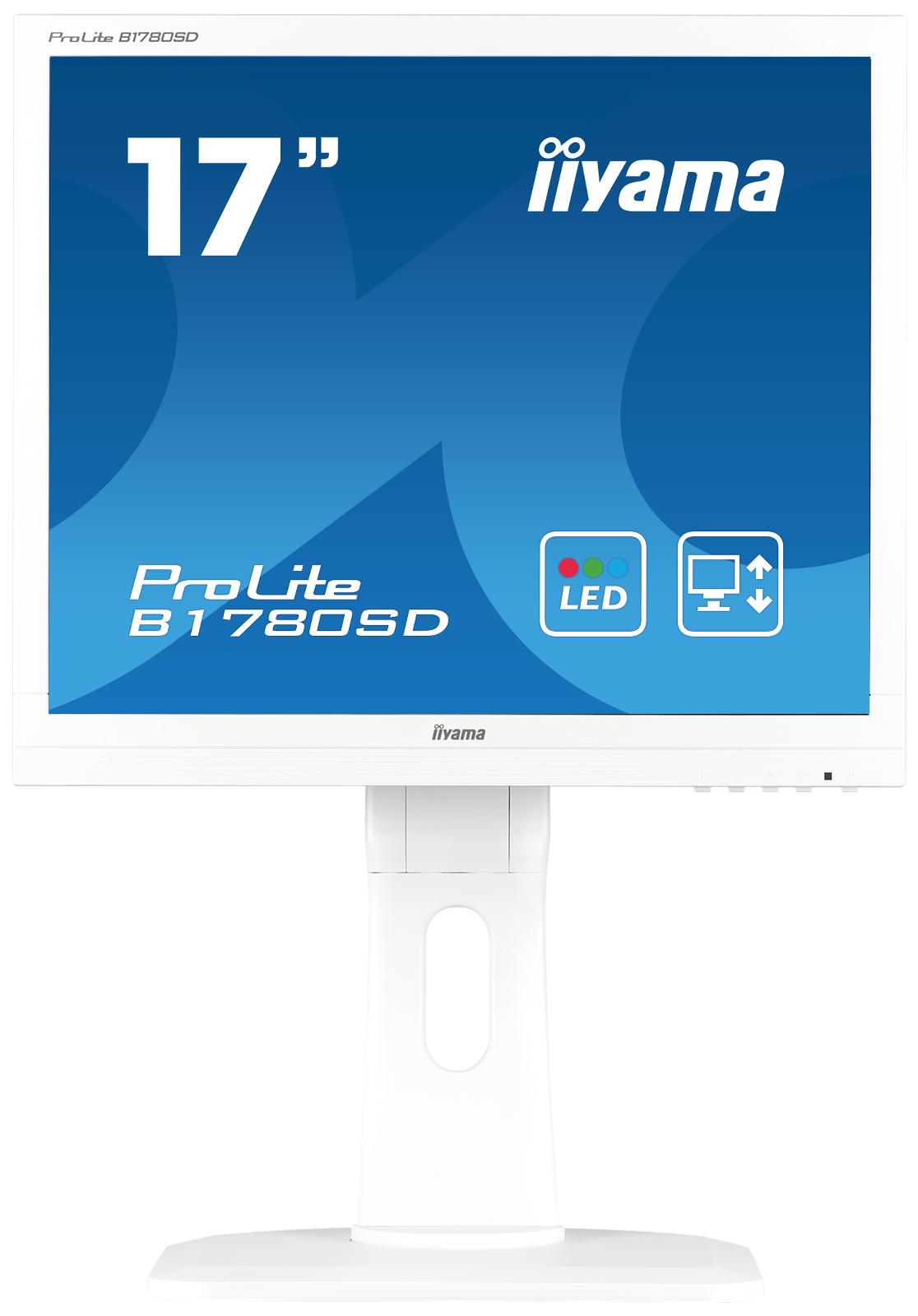 Iiyama ProLite B1780SD 17Zoll TN Matt Weiß Computerbildschirm