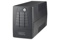 Line-Interactive 600VA Line-Interaktiv 600VA 2AC-Ausgänge Kompakt Schwarz Unterbrechungsfreie Stromversorgung (UPS)