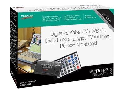 Hauppauge WinTV HVR-930C - Digitaler/analoger TV-Empfänger