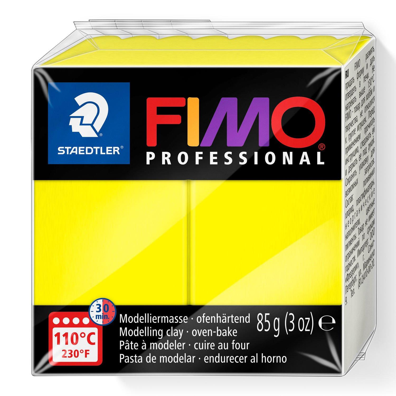 STAEDTLER FIMO 8004001 - Knetmasse - Erwachsene - Lemon - 1 Farben - 110 °C - 30 min