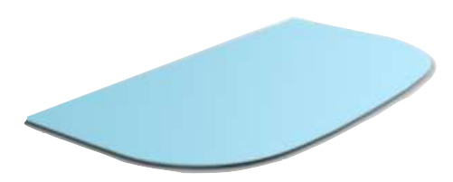 Segula 70931 - Rechteck - Blau - Gummi - Einfarbig - 247 mm - 19,8 cm