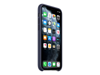 Hintere Abdeckung für Mobiltelefon - Silikon - Mitternachtsblau