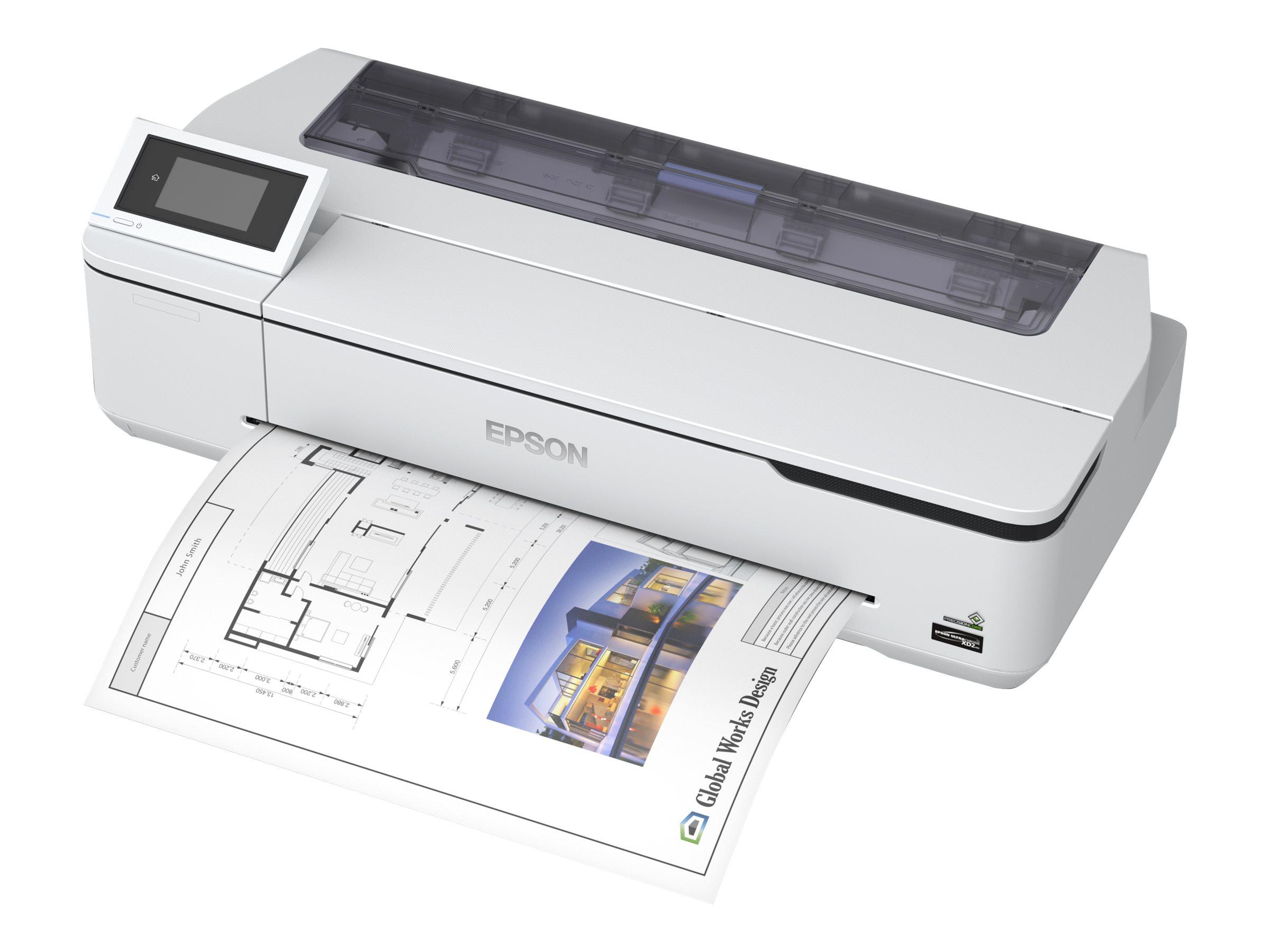 "Epson SureColor SC-T3100N - 610 mm (24"") Gro?formatdrucker - Farbe - Tintenstrahl - Rolle A1 (61,0 cm)"