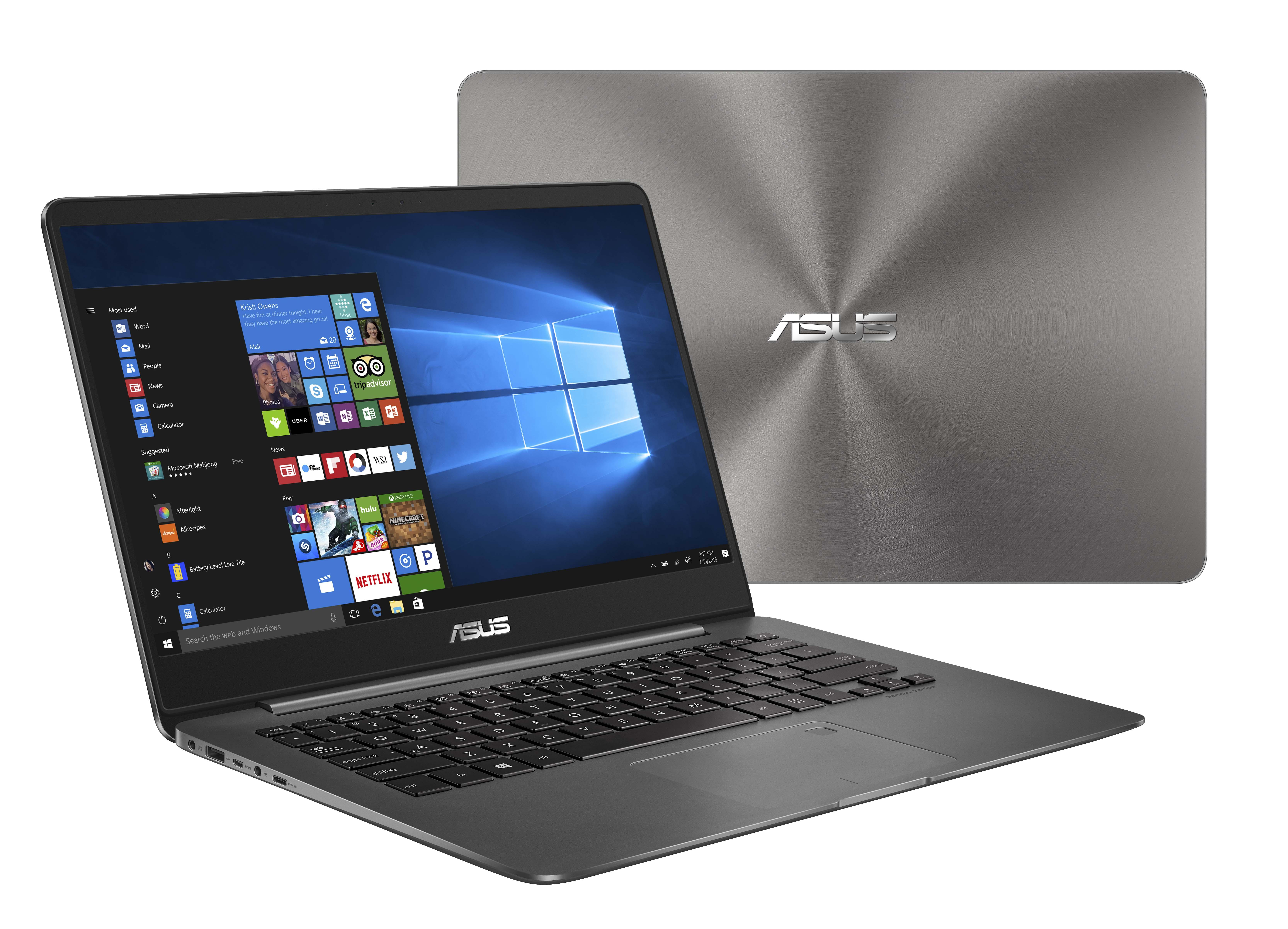ASUS ZENBOOK UX3430UN - 14 Notebook - Core i7 Mobile 1,8 GHz 35,6 cm