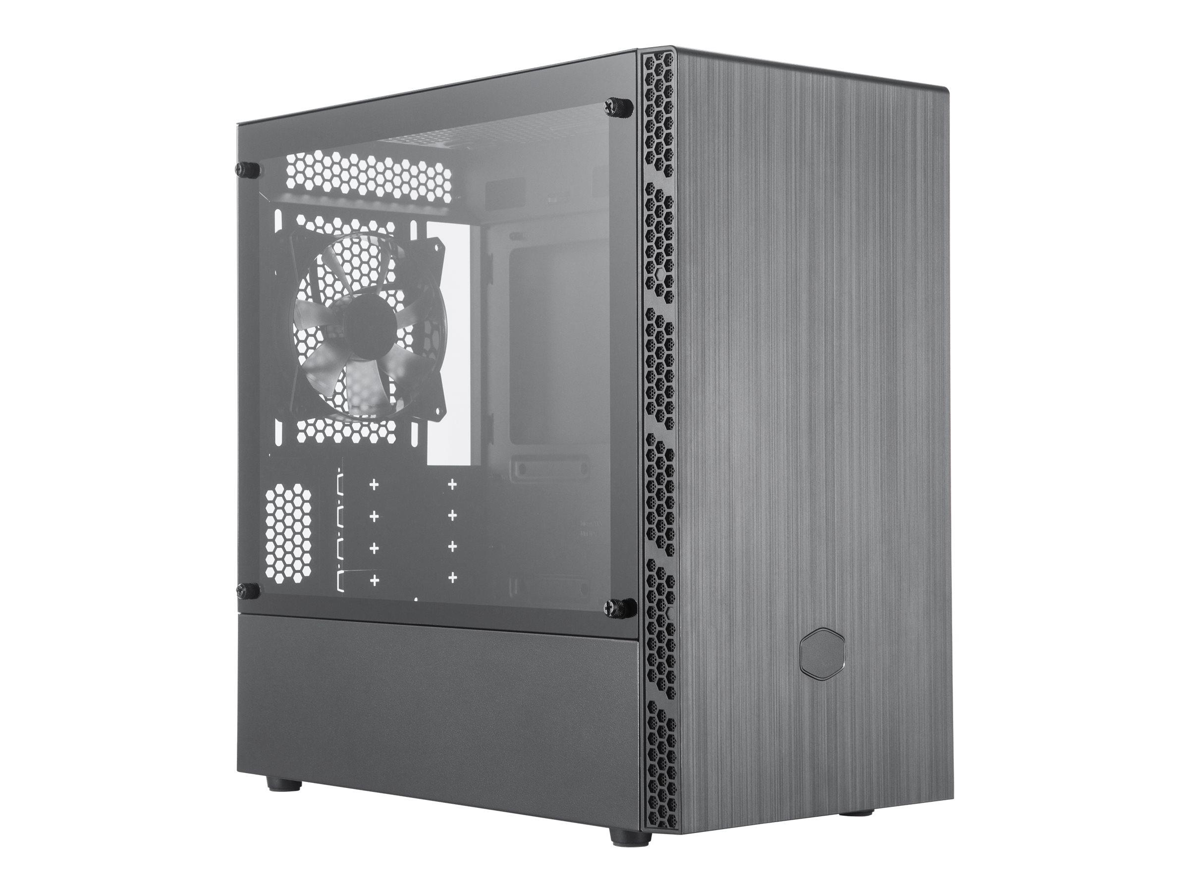 Cooler Master MasterBox MB400L - Tower - ATX - ohne Netzteil (ATX)