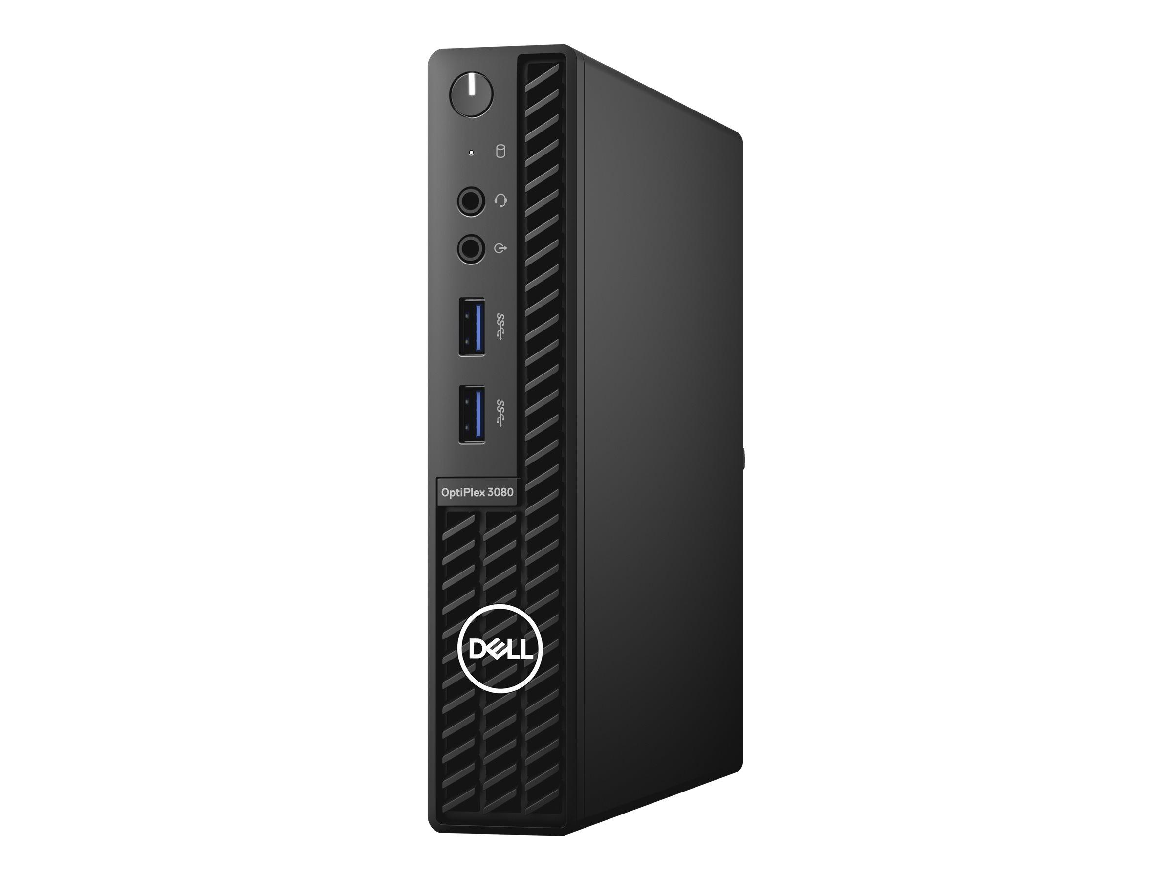 Dell OptiPlex 3080 - Micro - Core i5 10500T / 2.3 GHz