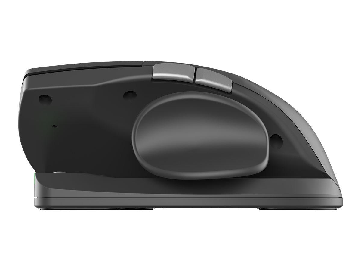 Cherry UNIMOUSE - Maus - ergonomisch - Für Rechtshänder - optisch - 7 Tasten - kabellos - 2.4 GHz - kabelloser Empfänger (USB)