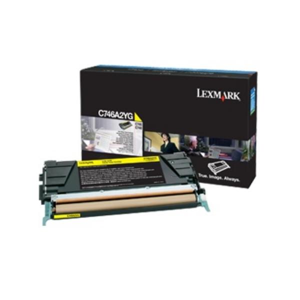 Lexmark C746A3YG Laser cartridge 7000Seiten Gelb Lasertoner / Patrone