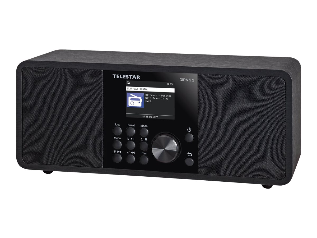 Vorschau: Telestar DIRA S 2 - Netzwerk-Audioplayer / DAB-Radiotuner - 20 Watt (Gesamt)