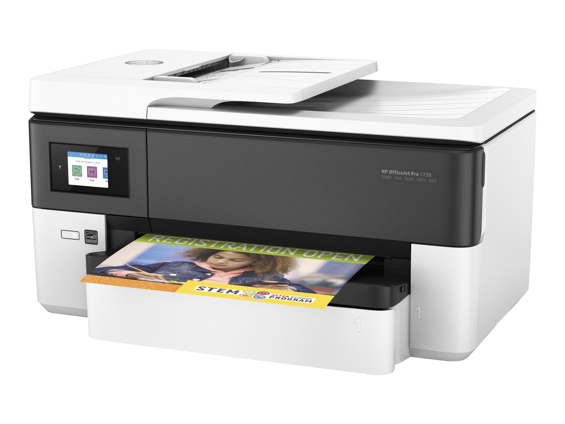 HP Officejet Pro 7720 Wide Format All-in-One - Multifunktionsdrucker - Farbe - Tintenstrahl - 216 x 356 mm (Original)