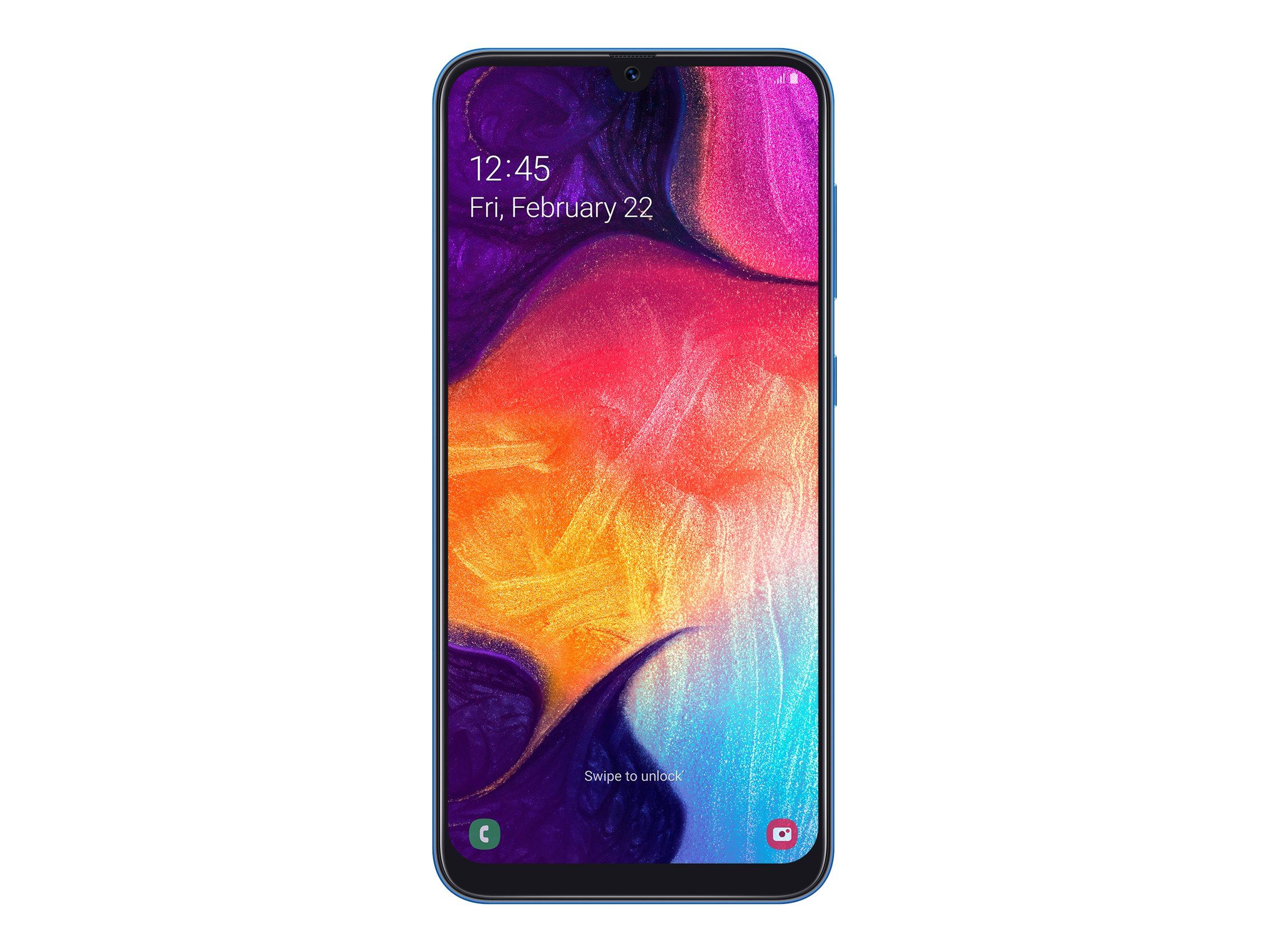 Samsung Galaxy A50 - Smartphone - 128 GB - Blau