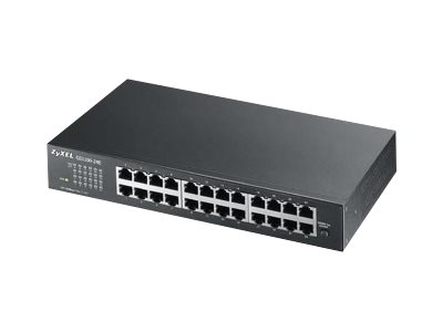 ZyXEL GS-1100-24E - Switch - unmanaged - 24 x 10/100/1000