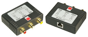 Lindy Audio/Video Extender - Composite Video & Stereoüber C