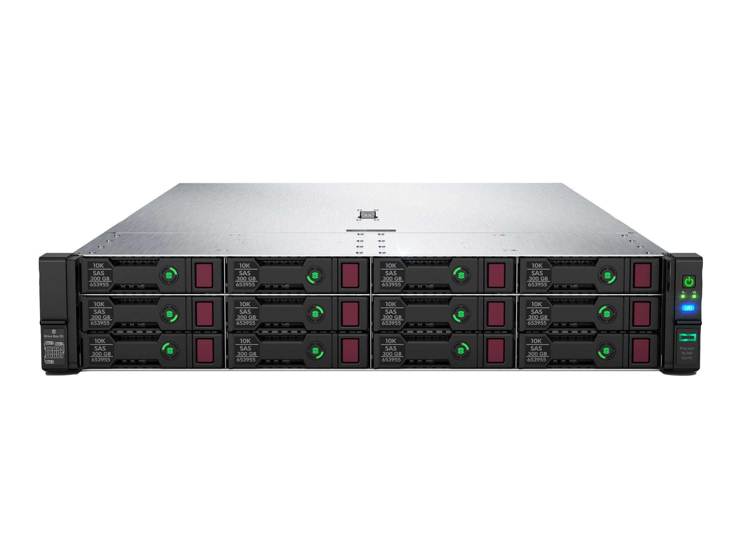 "HPE ProLiant DL380 Gen10 - Server - Rack-Montage - 2U - zweiweg - 1 x Xeon Gold 5218 / 2.3 GHz - RAM 32 GB - SATA - Hot-Swap 6.4 cm (2.5"")"