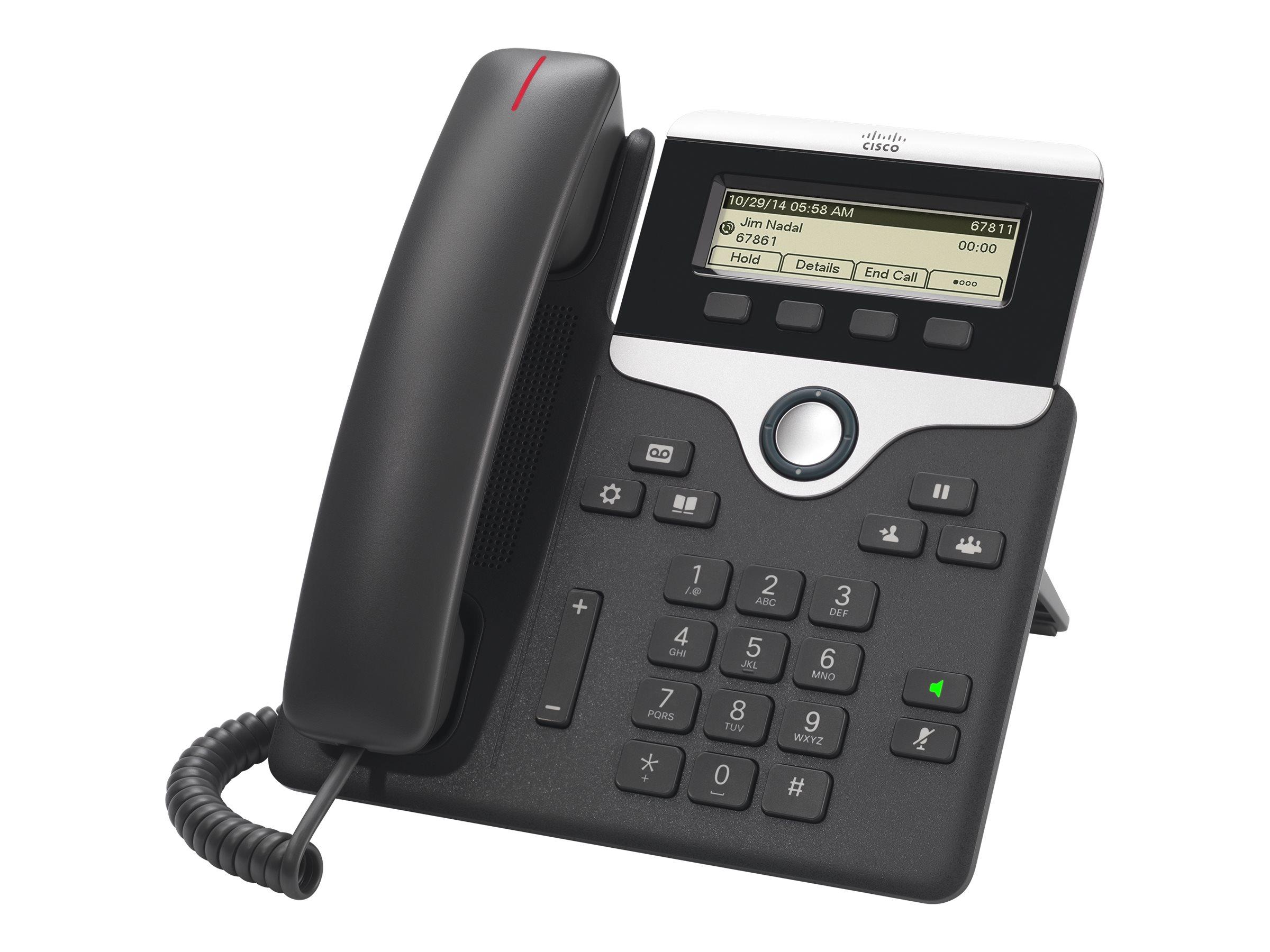 Cisco IP Phone 7811 - VoIP-Telefon - SIP, SRTP