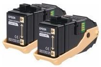 Epson AL-C9300N Tonerkassetten-Doppelpack Yellow 7.5k x 2