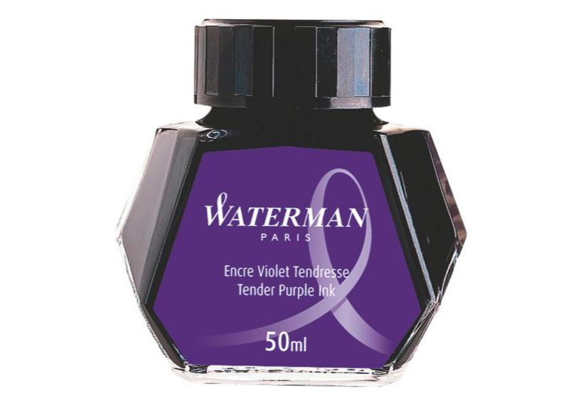 WATERMAN S0110750 - Violett - Schwarz - Transparent - Füllfederhalter - 50 ml - 1 Stück(e)