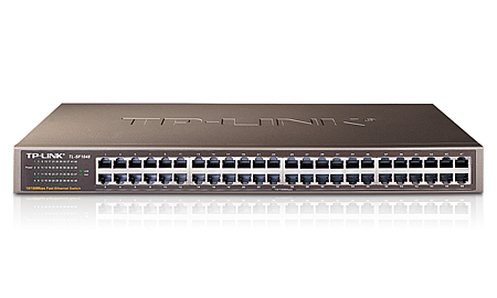 TP-LINK TL-SF1048 - Switch - 48 x 10/100