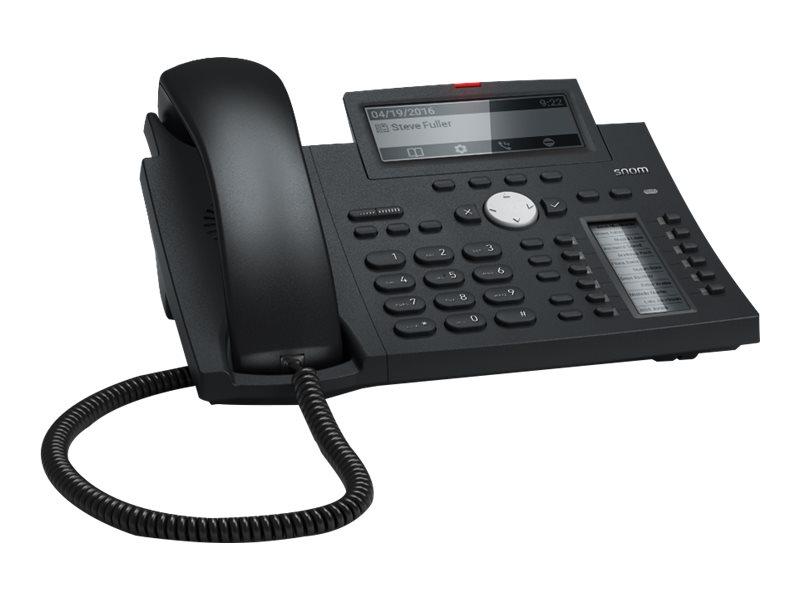 Snom D345 - VoIP-Telefon - dreiweg Anruffunktion
