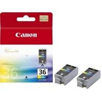 Canon CLI-36 Schwarz - Gelb Tintenpatrone