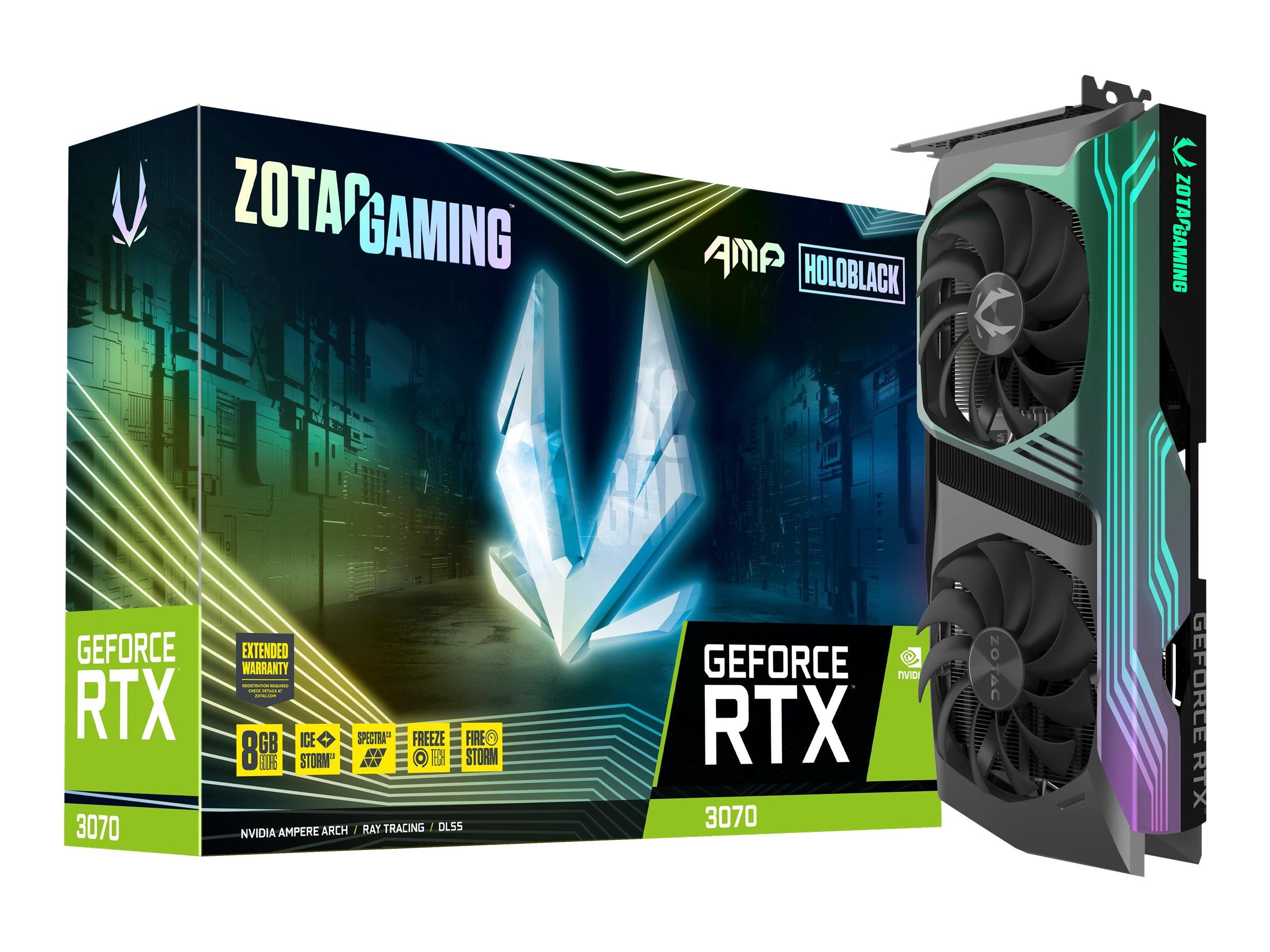 ZOTAC GAMING GeForce RTX 3070 AMP Holo - Grafikkarten