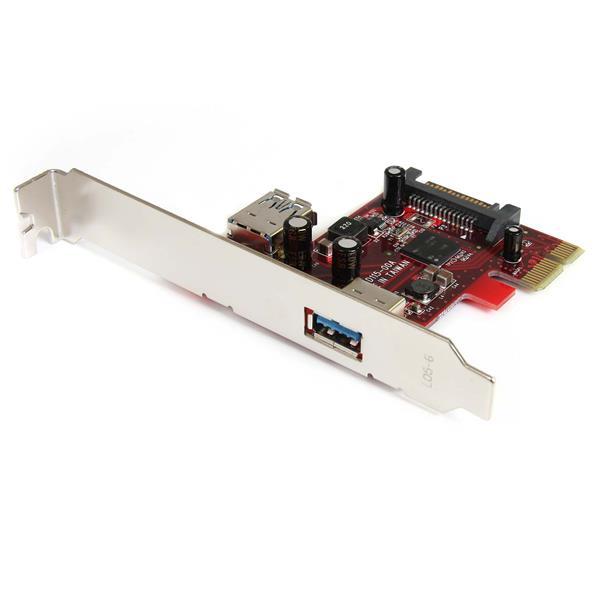 StarTech.com 2 Port USB 3.0 SuperSpeed PCI Express Schnittstellenkarte mit UASP Unterstützung