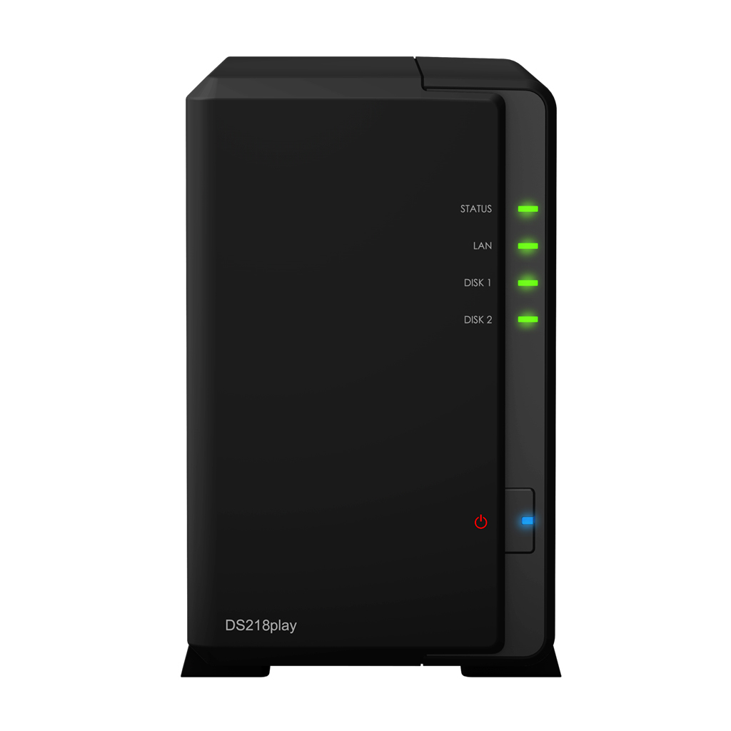 Synology NAS Disk Station DS218play 2 Bay - Storage Server - NAS
