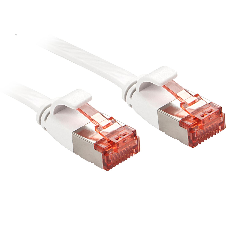 Lindy RJ45 Cat.6 U/FTP 0.3m 0.3m Cat6 U/FTP (STP) Weiß