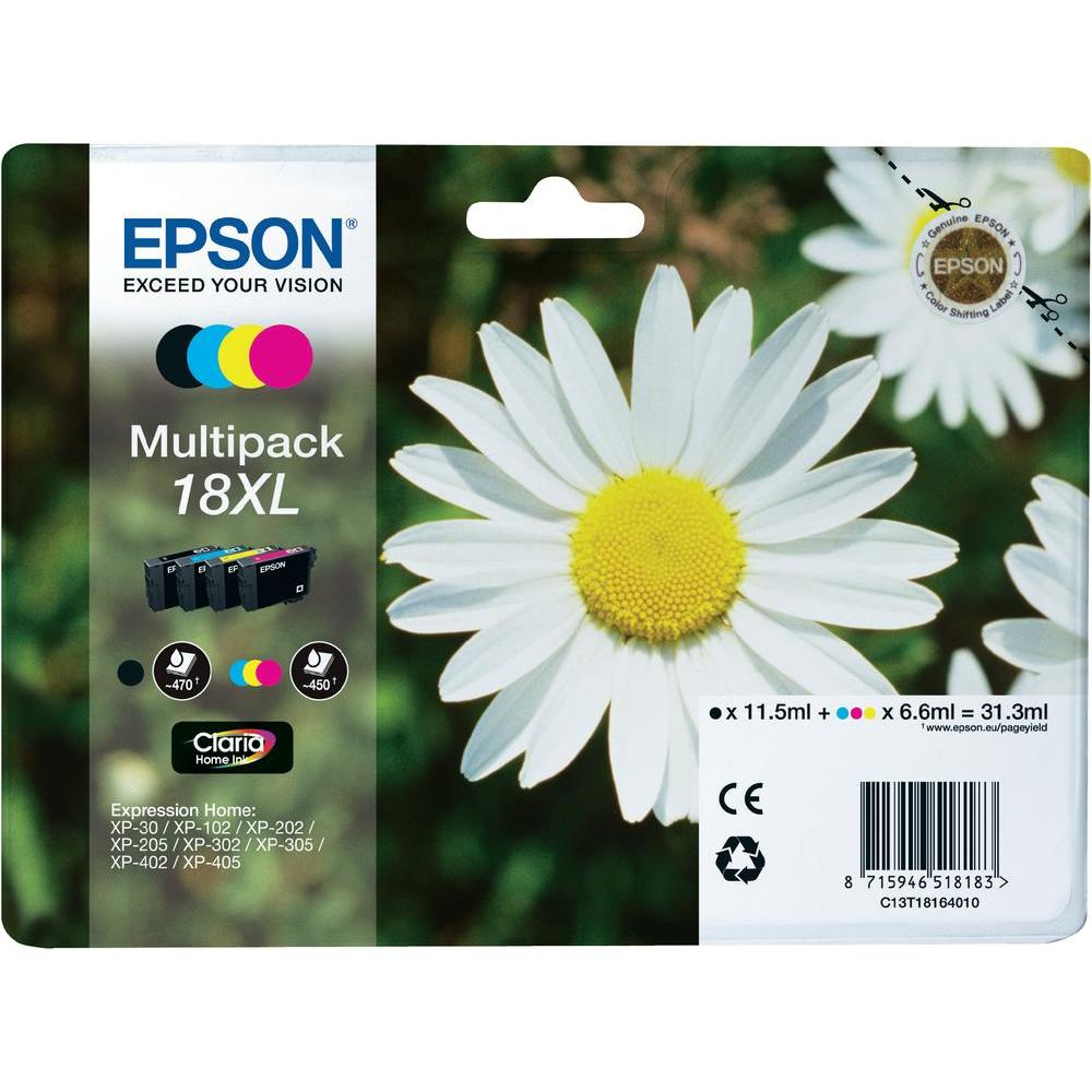 Epson Multipack 4Farben 18XL Claria Home Ink